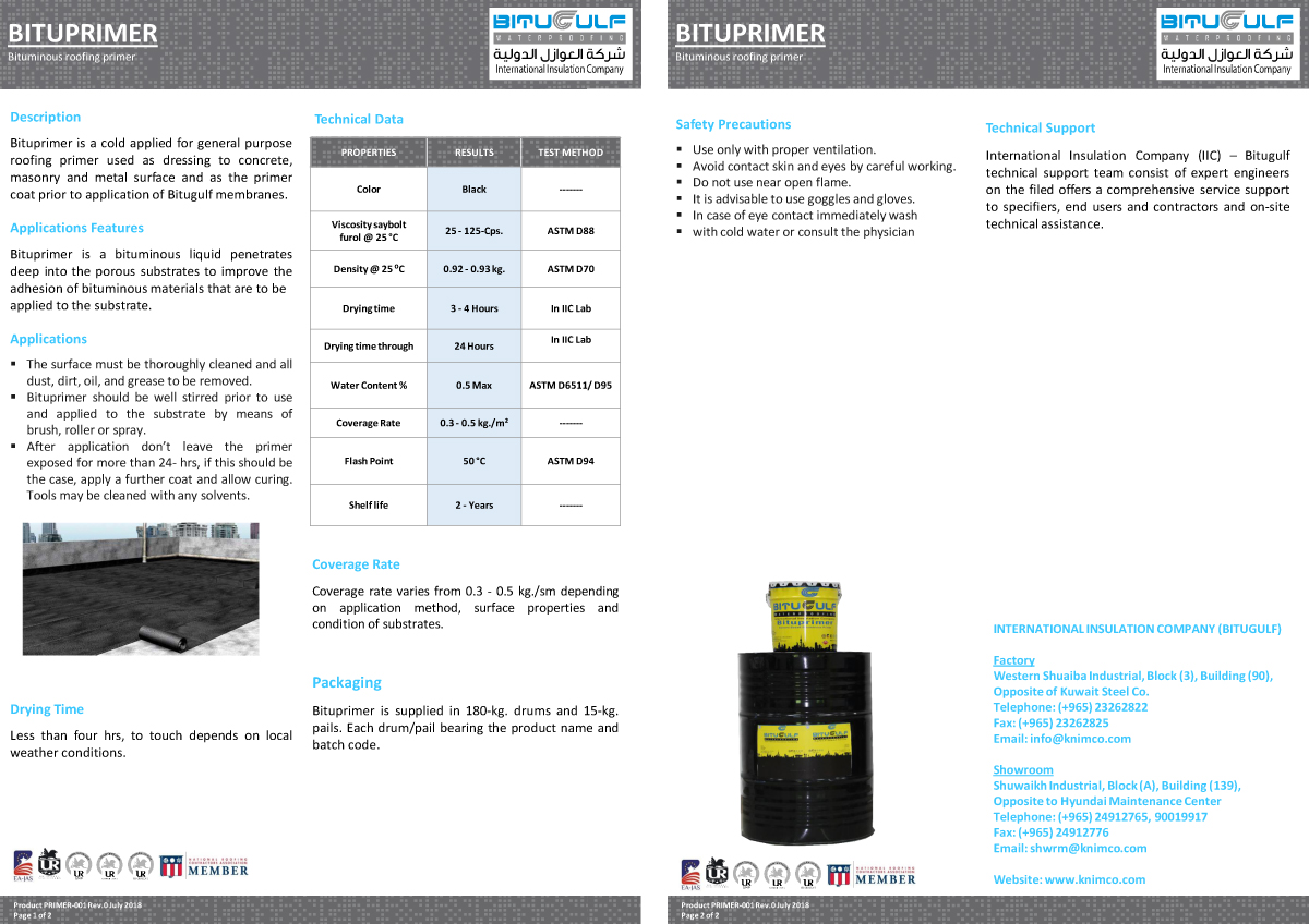 Iic Solutions Primers